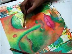 How to Paint Buddha Step by Step Acrylic Painting on Canvas for Beginners - YouTube