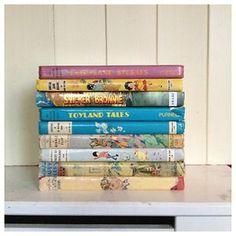 Vintage Enid Blyton Books x 9