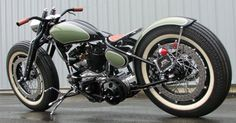 I love the paint: Garage Project Motorcycles - Extreme 45 Flathead Custom With Fine Metal Work By...