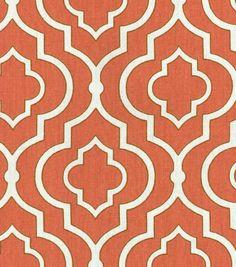 "Home Essentials Print Fabric 45""-Dalgety Panorama Coral"