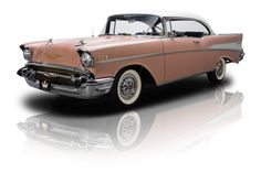 1957 Chevrolet Bel Air Pink - my dad had one of these when I was growing up - brings back memories