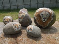 This stone painting museum displays the work of Anbu Izumi who paints ...