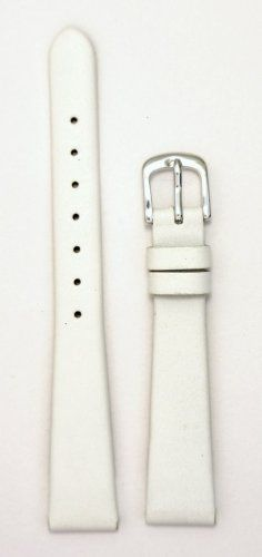 Ladies Genuine Italian Leather Watchband White Watch Band - by JP Leatherworks. Genuine Leather Lining. Superb Quality and Value. Discount Bedding, Athletic Fashion, Gift Store, Italian Leather, Watch Bands, Just For You, Lady, Leather Watches, Lowes Coupon
