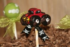 Monster Truck Cake Pops Will Have You Revved Up for More - foodista.com