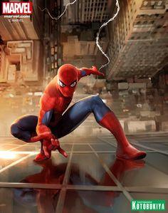 The Amazing Spider-Man Kotobukiya Print - Stefano Caselli