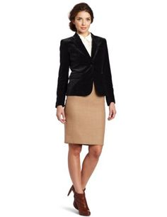 Vince Camuto Women's One Button Velvet Blazer Vince Camuto, http://www.amazon.com/dp/B00819FU9S/ref=cm_sw_r_pi_dp_iEJPqb0E58Z39