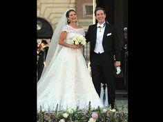 Prinzessin Madeleine und Chris O'Neill (Quelle: Carsten Rehder/dpa)
