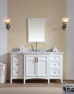 Images Photos Shop for Virtu USA Finley Inch Double Sink Bathroom Vanity Set Get free delivery at Overstock Your Online Furniture Outlet Store Get u