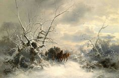 munthe, ludwig - Horses and Cart Returning Home in a Winter Landscape Winter Painting, Winter Art, Andrew Wyeth, Artist Signatures, Global Art, Winter Landscape, Winter Scenes, Art Market, Impressionist