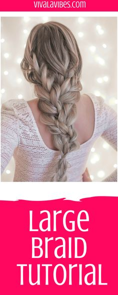 Check out this tutorial to get the look #braids #braidedhairstyles #braiding #hair #hairstyle #hairfashion #hairtutorial #tutorial #tips #videotutorial #hairstyleideas #hairstyles #braid