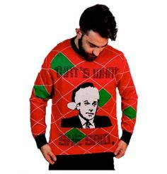 The Office Christmas Sweater.Office Party Ugly Sweater
