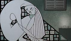 La debolezza  (Schwäche)-The weakness, acrylic on canvas, 60x95cm, 2015