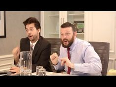 John Crist and Aaron Chewning are Christian music record executives, trying to sign their newest discovery, The Cross Trainers. Written by John Crist, produc. Christian Comedians, Christian Singers, Christian Videos, Christian Music, John Crist Youtube, Hit Songs, Music Songs, Comedy Festival, Bible Study Tools