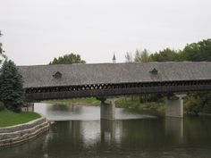 Frankenmuth Covered Bridge - This bridge is very special to me. There are a few pics of me and my Brother on this when I was about 7 or 8. Use to drive across this bridge with my Parents about once a month.