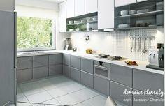 House design Andromeda N m² - Domowe Klimaty Two Story House Design, Two Story Homes, House Entrance, Ground Floor, Kitchen Cabinets, Floor Plans, Flooring, Living Room, Interior Design