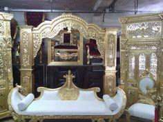 Trône de mariage Indien à louer sur http://www.location-mobilier ...