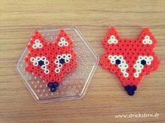 Fuchs aus Bügelperlen