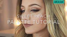 Makeup Tutorial ❤ - Too Faced Sweet Peach Palette Makeup Tutorial