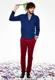 Tommy Hilfiger: TERENCE CARDIGAN, JASPER CHECK SHIRT, MERCER REGULAR FIT CHINO, ANDRE LOAFER