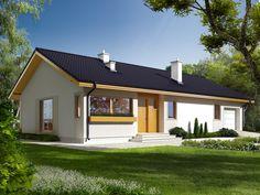 Dream House Exterior, Dream House Plans, Modern House Design, Exterior Design, Planer, Bungalow, Gazebo, Cottage, Mansions