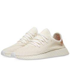 7b574283f Adidas Deerupt Runner Cloud White   Ash Pearl 1