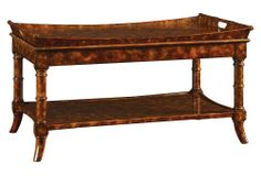 Heston Tray Top Cocktail Table - Made of rubberwood and birch solids, this cocktail table comes with one removable tray. x x 449 - orig. Top Cocktails, Cocktail Tables, Chinoiserie, Tortoise, Color Combos, Home Furniture, Entryway Tables, Tray, Kings Lane