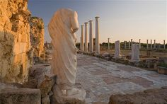 Salamis Antik Kenti - Kıbrıs Seyahati