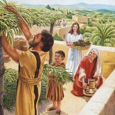 This is an authorized Web site of Jehovah's Witnesses. It is a research tool for publications in various languages produced by Jehovah's Witnesses. Bible Pictures, Jesus Pictures, Feast Of Tabernacles, Christian Pictures, Old Testament, Character Costumes, Bible Stories, Bible Art, Jehovah