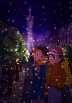 ^ ♡ - I give good credit to whoever made this Pokemon Ash And Misty, Ash Pokemon, Pokemon Ships, Pokemon Comics, Pokemon Fan, Pikachu, Pokemon Couples, Anime Couples, Ashes Love