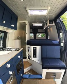 Likes, 90 Comments - Vanlife 🏕 Van Camping 🚐 Vans ( on . Van Conversion Interior, Camper Van Conversion Diy, Van Interior, Camper Interior, Van Conversion Bathroom, Motorhome Conversions, Sprinter Camper, Bus Camper, Camper Life