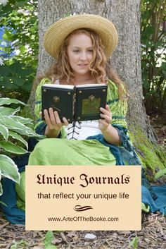 Creative leather journals perfect for Renaissance festivals, faires, LARPs, RPGs, and cosplay. Pin on your costume and festival boards!