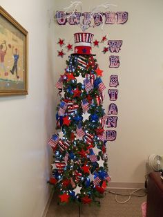 July Tree: Independence Day 2013