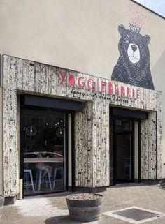 Yoggieberrie Café by Terry Design, Belfast – Northern Ireland » Retail Design Blog