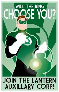 Green-Lantern-Art-Deco by CuddleswithCats on DeviantArt
