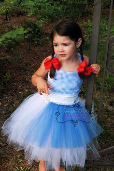 Wizard of Oz Inspired Tutu Dress Costume - Dorothy, Tin Man, Lion, Scarecrow or Glenda Too Cute!! #shoppe3130tutus