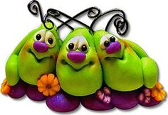 *POLYMER CLAY ~ Bugs