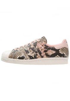 adidas Originals - SUPERSTAR 80S - Tenisówki i Trampki - vapour pink/off white