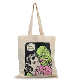 Creature from the Black Lagoon Canvas Tote Bag #uniquevintage