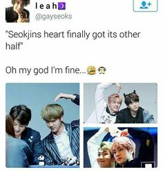 YAAAASSSS NAMJIN  FOR LIFE
