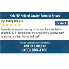 Everyday is another day my family and I are excited to attend KRKLF! Thankful for the...