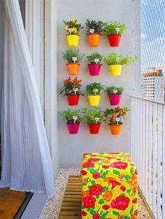 Quero uma varanda assim!