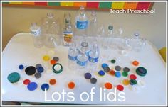 Lots of lids by Teach Preschool