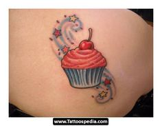 Love the swirl and stars on this one! Add it to my fave cupcake!
