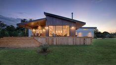 Modern lakóház - homlokzat ötletek, modern stílusban