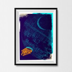 "A lovely art print inspired by the films. | 23 Epic Gifts For Future ""Star Wars"" Fans"