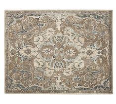Nolan Persian-Style Rug, Neutral At Pottery Barn - Rugs . Living Room Carpet, Rugs In Living Room, Dining Rooms, Persian Carpet, Persian Rug, Pottery Barn, Large Area Rugs, Room Rugs, Grey Rugs