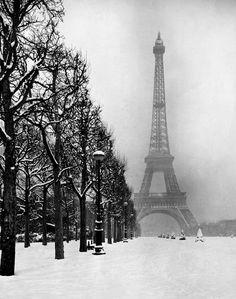 Winter in Paris - 1948