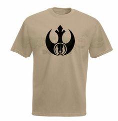 Star Wars Rebel Jedi Custom T-Shirt by FatDogDesignsStore on Etsy