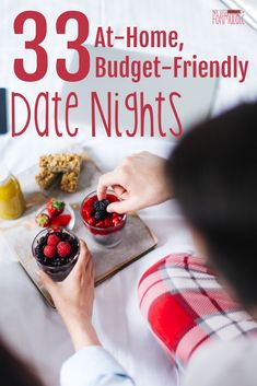 Need a night out with your husband, but don't feel like leaving the house? Check out these creative ideas for a budget-friendly, at-home date night you can try out tonight.