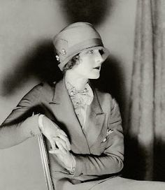 Norma Shearer in Vanity Fair magazine, 1926.  Cloche hats were initially seen as a 'shocking' and even scandalous fashion statement, but onec they become more accepted and commonplace they symbolized feminine style and refinement.